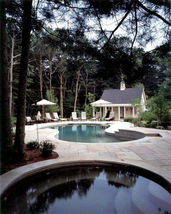 pool landscape design ri